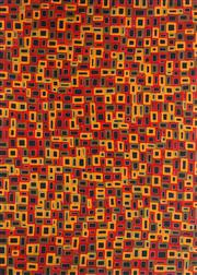 Sale 8862A - Lot 576 - Abie Loy Kemerre (1972 - ) - Awelye 87 x 118cm (stretched and ready to hang)