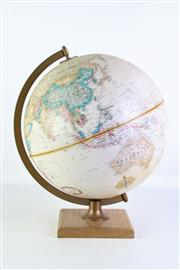 Sale 8905 - Lot 13 - Topographical Globe on Stand (H40cm)