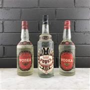 Sale 8976W - Lot 86 - 3x Old Vodkas