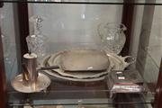 Sale 8047 - Lot 55 - Silver Plated Wares & Crystal Jug and Decanter