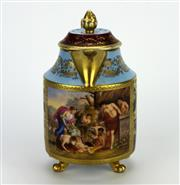 Sale 8139 - Lot 82 - Royal Vienna Coffee Pot