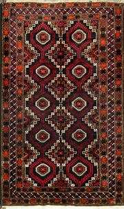 Sale 8345C - Lot 27 - Persian Baluchi 200cm x 121cm