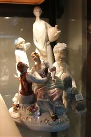 Sale 8362 - Lot 240 - Czechoslovakian Figural Group with other Figures incl. Spanish