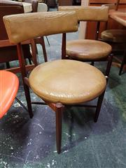 Sale 8661 - Lot 1064 - Set of Four G-Plan Teak Dining Chairs
