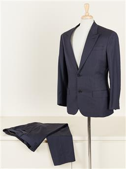 Sale 9120K - Lot 85 - A Louis Vuitton tailored navy suits set; with internal pockets, jacket and pants size 50
