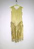 Sale 3741 - Lot 426 - A 1920s dress of canary yellow