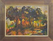 Sale 8113A - Lot 64 - Cecil Kenneth Baker (1931 - 1996) - In The Shade, District Six, Cape Town 31 x 44cm