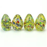 Sale 8399 - Lot 92 - Murano Castellani Millefiori Set of Four Paperweights