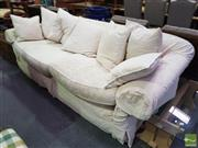 Sale 8553 - Lot 1106A - Molmic 'Loft' Cream Upholstered Three Seater Sofa