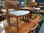 Sale 8661 - Lot 1062 - Pair of McIntosh Teak Dining Chairs
