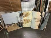 Sale 8659 - Lot 2130 - John Colbert (3 works) - Maritime Scenes acrylics on canvas, various sizes, each signed lower