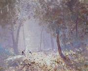 Sale 8881 - Lot 580 - William Rubery Bennett (1893 - 1987) - Morning in the Bush 29 x 36 cm