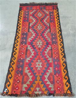 Sale 9255 - Lot 1196A - Hand knotted pure wool Persian kilim (210x95cm)