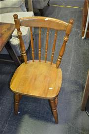 Sale 8117 - Lot 940 - Set of 4 Country Style Chairs