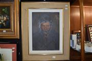 Sale 8410T - Lot 2072 - M. Biasini (XIX) - Portrait of a Man, 1880 41 x 29cm