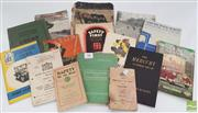 Sale 8900 - Lot 98 - Collection of Car Booklets incl. The Mercury an entirely New Car; Salesman Guide to the Hillman Minx; Instruction Book of Flyin...