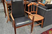 Sale 8465 - Lot 1677 - Spindle Back Chair and a Carver