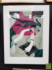 Sale 8478 - Lot 2019 - Carol Murphy The Bride, screenprint ed. 2/10, 62 x 45.5cm, signed lower right