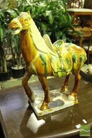 Sale 8499 - Lot 1086 - Tang Style Horse