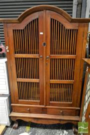 Sale 8499 - Lot 1666 - Timber Cabinet with two doors and two drawers