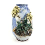 Sale 8545N - Lot 71 - Unusual Oriental Vase with Protruding Features of Foliage (H: 32cm)