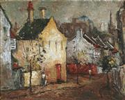 Sale 8881 - Lot 501 - Wilmotte Williams (1916 - 1992) - The Yellow House, 1963 40 x 49.5 cm