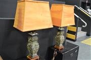 Sale 8159 - Lot 1001 - Pair of Bronze Twin Light Table Lamps