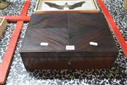 Sale 8189 - Lot 2182 - Timber Box with Key