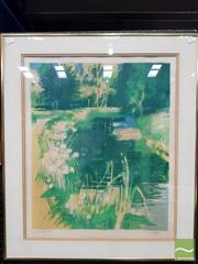 Sale 8495 - Lot 2035 - Artist Unknown (French School) - Pond 50 x 45.5cm