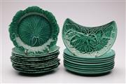 Sale 9064 - Lot 4 - Suite of Wedgwood Majolica Dishes