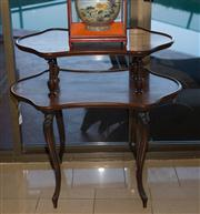 Sale 7984 - Lot 86 - Antique rosewood 2 tier butlers table