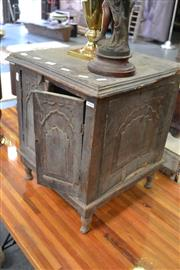 Sale 8013 - Lot 1199 - Small Rustic Timber Cabinet