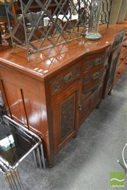 Sale 8277 - Lot 1084 - Bow Front Sideboard