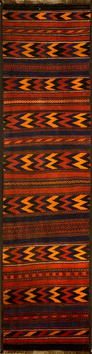 Sale 8360C - Lot 39 - Persian Kilim 333cm x 82cm