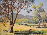 Sale 8394 - Lot 506 - John (Jack) Salvana (1873 - 1956) - Countryscape, 1951 29 x 39cm