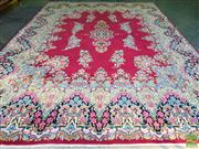 Sale 8566 - Lot 1180 - Persian Kerman (425 x 305)