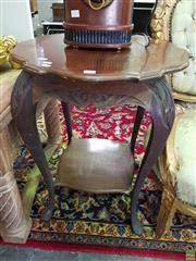 Sale 8566 - Lot 1394 - Shaped Occasional Table