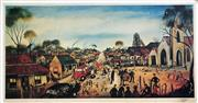 Sale 8655A - Lot 5045 - Kevin Charles (Pro) Hart (1928 - 2006) - The Miners Wedding 32 x 61cm