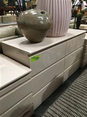 Sale 8851 - Lot 1062 - High Gloss Chest of 6 Drawers