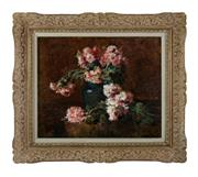 Sale 8888H - Lot 30 - Nature Morte by Marius Dalon late 19th C - early 20th C, oil on canvas 46 x 54 cm signed