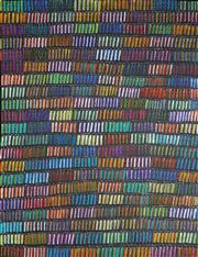 Sale 9009A - Lot 5028 - Patricia Kamara - Bush Medicine Leaves 139 x 136 cm (stretched and ready to hang)