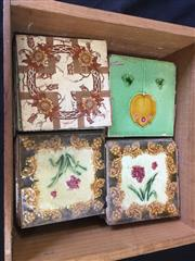 Sale 9017 - Lot 1060 - Box of Early Tiles