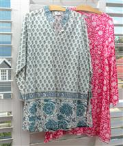 Sale 9023H - Lot 88 - Two cotton pool shirts in various colours and patterns one by Anohki, Size L two XL