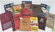 Sale 8900 - Lot 99 - Collection of Car Booklets incl. How Old is that Car on the Australian Market, 1923/38; Shell Motorists Index; Owners Manual Pac...