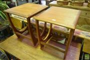 Sale 8532 - Lot 1120 - Pair of G-Plan Side / Sofa Tables