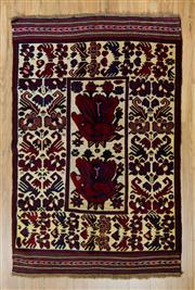 Sale 8566C - Lot 75 - Persian Somac 204cm x 132cm