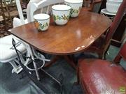 Sale 8601 - Lot 1046 - Half an Extension Dining Table