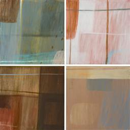 Sale 9216A - Lot 5015 - BELYNDA HENRY (1973 - ) (4 works) Driving III, Panels 1-4 oil on canvas on board 60 x 60 cm, each inscribed verso