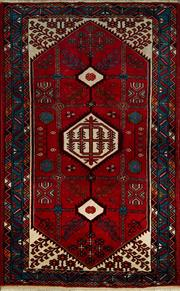 Sale 8370C - Lot 92 - Persian Hamadan 216cm x 159cm