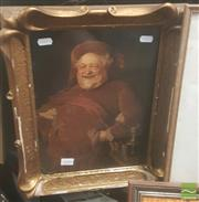 Sale 8446 - Lot 2066 - (2 works) R. Gallon & Artist Unknown - Crossing the River; Merry Tavern Man various sizes